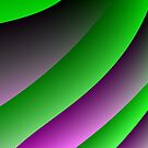 Purple Green Abstract 3 by Gypsykiss