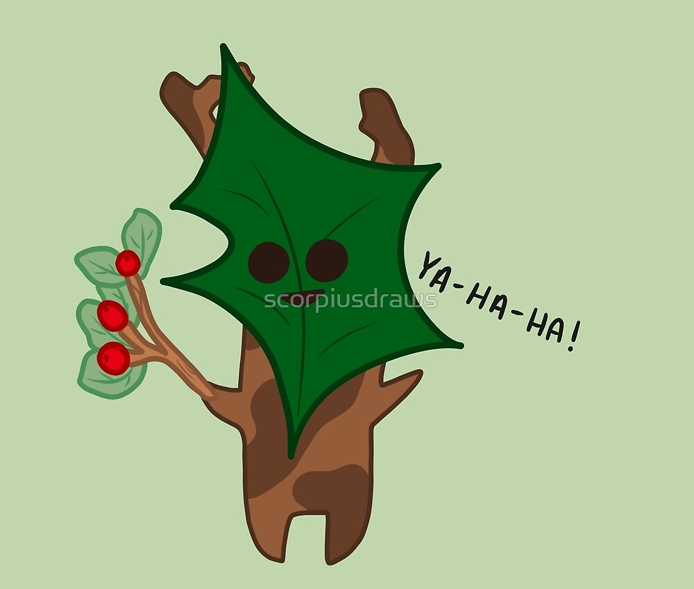 Winter Korok by scorpiusdraws