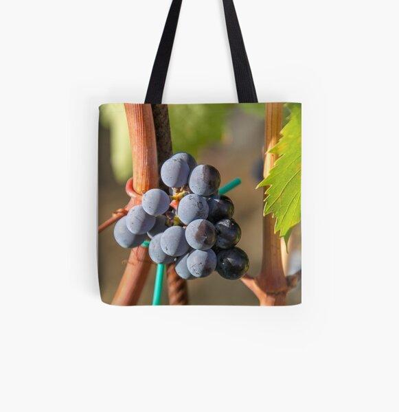 Grape Vine All Over Print Tote Bag