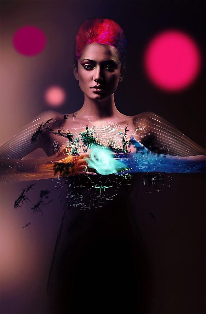 Cyberpunk Girl by Ben Brook