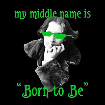 The Name is Wilde. Oscar Wilde. by xanaduriffic