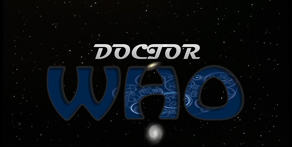 Cosmic Doctor Who logo by TheGeeksRobot