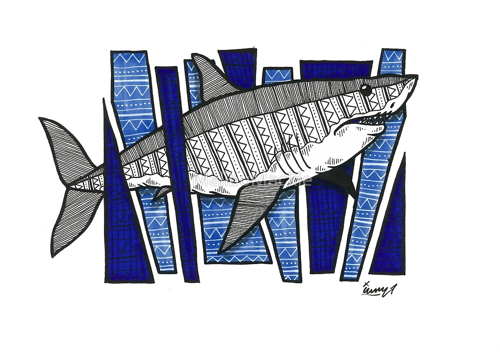 Great White Shark by Iain Mackay