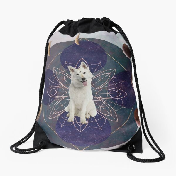 DoogyMystic Dog  Drawstring Bag