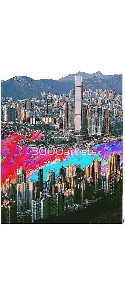 Hong Kong  by 3000artists