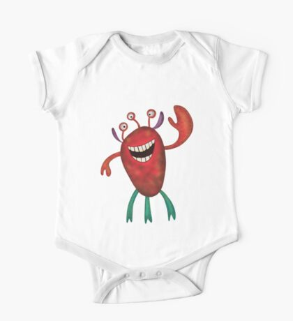 Happy Larry - friendly monster by Cecca Designs Kids Clothes