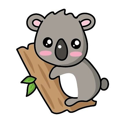 Cute Koala Sticker by Annalisa Linn