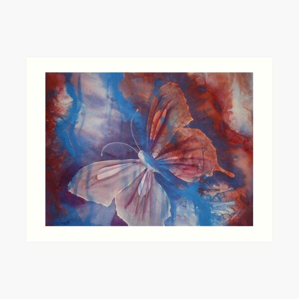 Watercolour Le Monde Papillon (Butterfly of the world) Art Print