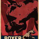 Boxer Rebellion - Vintage Propaganda Poster Style Pop Art by Galen Valle