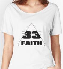 Faith 33 Women's Relaxed Fit T-Shirt