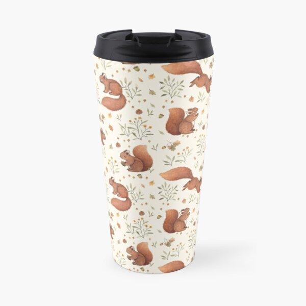 Furry Squirrel  Travel Mug