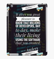 quotes for developers, programming iPad Case/Skin