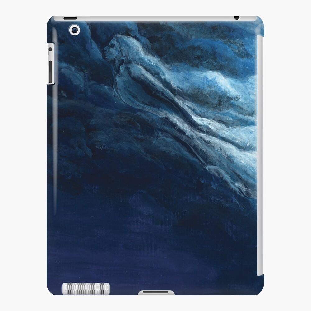 Children's book Cloud Woman print iPad Case & Skin