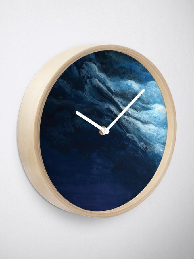 Alternate view of Children's book Cloud Woman print Clock