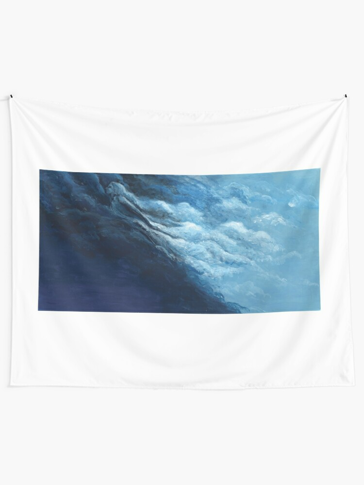 Alternate view of Children's book Cloud Woman print Wall Tapestry