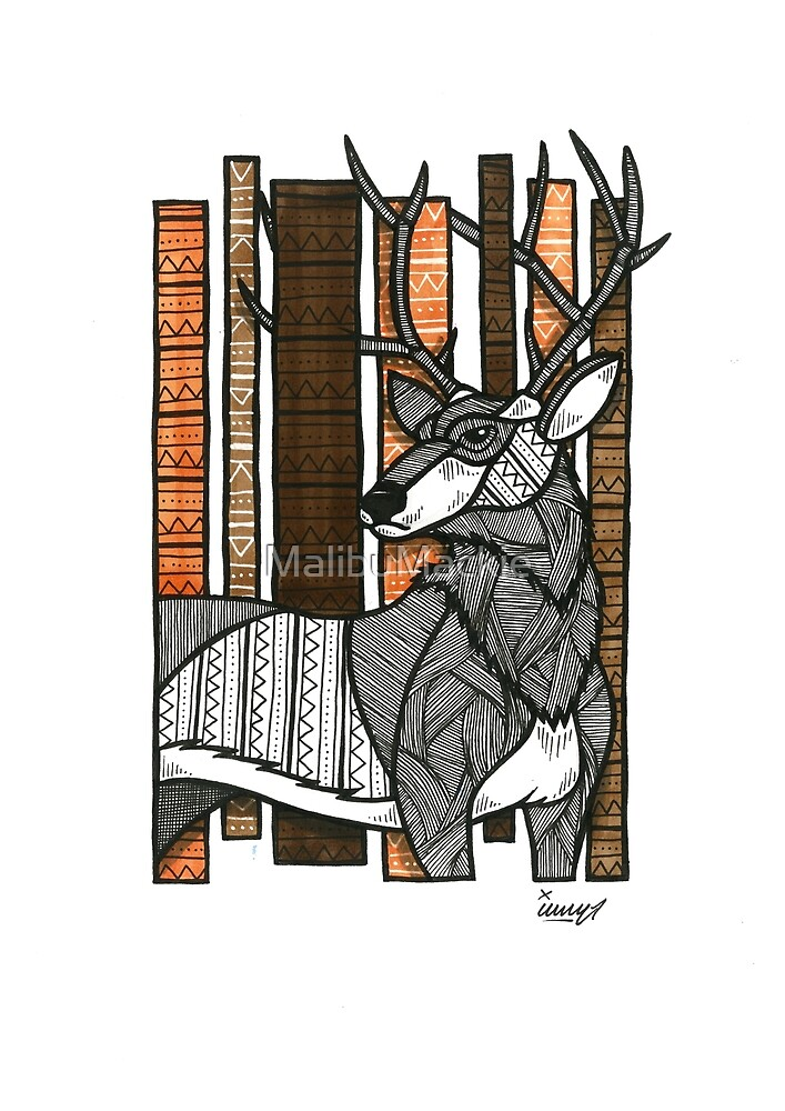 The Stag by Iain Mackay