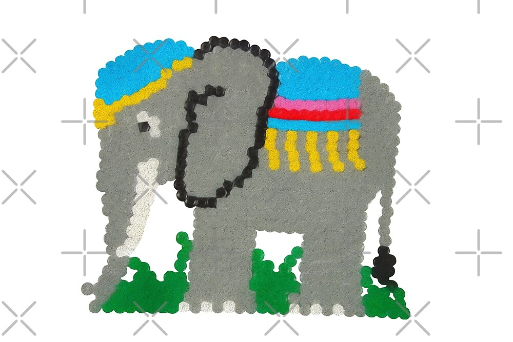 Elephant illustration by Russell102