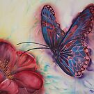 Stained Glass Butterfly by Marion Chapman