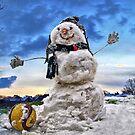 Snow Man by NeilAlderney