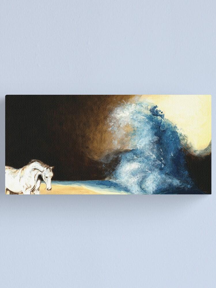 Alternate view of Children's book Wave Woman print Canvas Print
