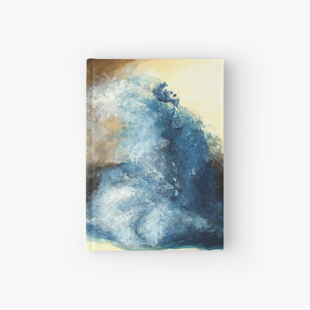 Children's book Wave Woman print Hardcover Journal