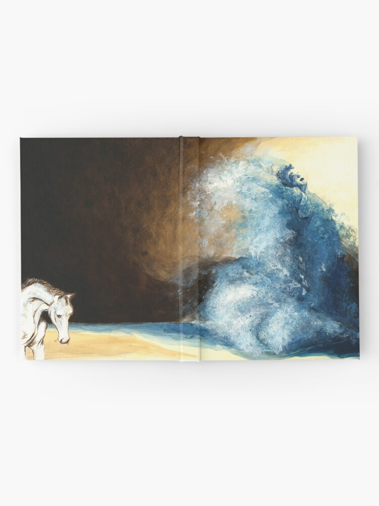 Alternate view of Children's book Wave Woman print Hardcover Journal