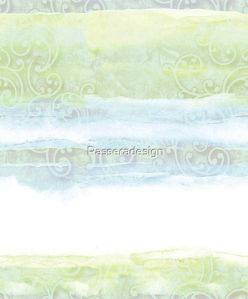Aquarel and ornament by Passeradesign