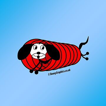 Agility dog - tunnel by BonnyGraphics