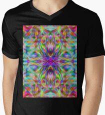 Psychedelic Men's V-Neck T-Shirt