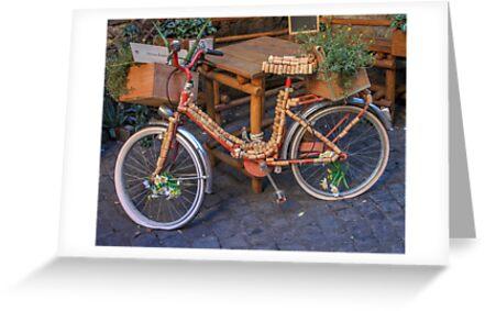 Cork Bicycle by ETBtravelphotog