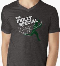 Philadelphia Eagles The Philly Special Football Trick Play  Men's V-Neck T-Shirt