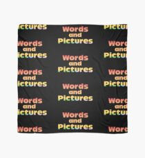 Words and Pictures Scarf