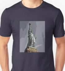Miss Liberty 2 Unisex T-Shirt