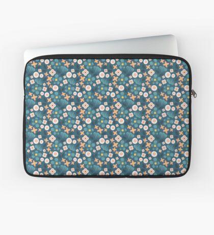 Modern Floral Laptop Sleeve