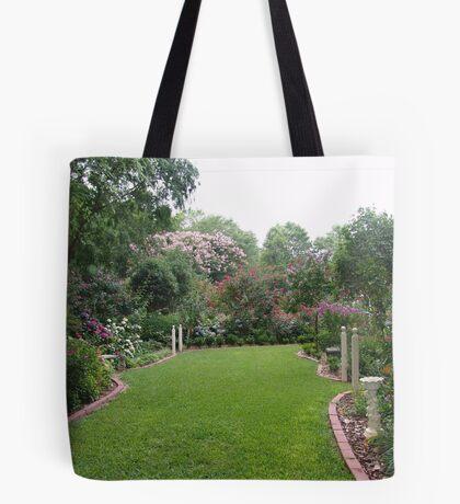 The magic of June's Garden Tote Bag