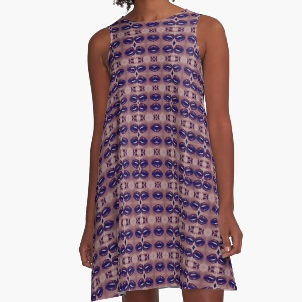 vintage, prestigious, harmonious, harmonic, balanced, tuneful, consonant, concordant A-Line Dress
