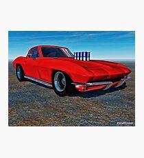 '67 Sting Rod Photographic Print