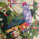 Rose Crowned Fruit Dove by Mellissa Read-Devine