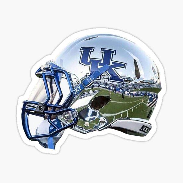 Kentucky Chrome Football Helmet Sticker