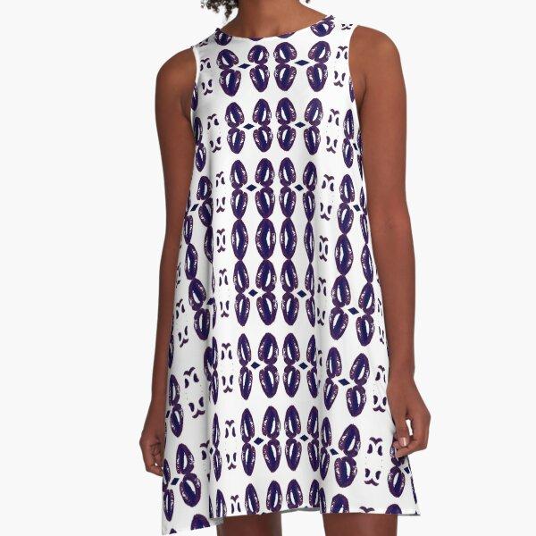 Harmonious, harmonic, balanced, tuneful, consonant, concordant, rich, wealthy A-Line Dress