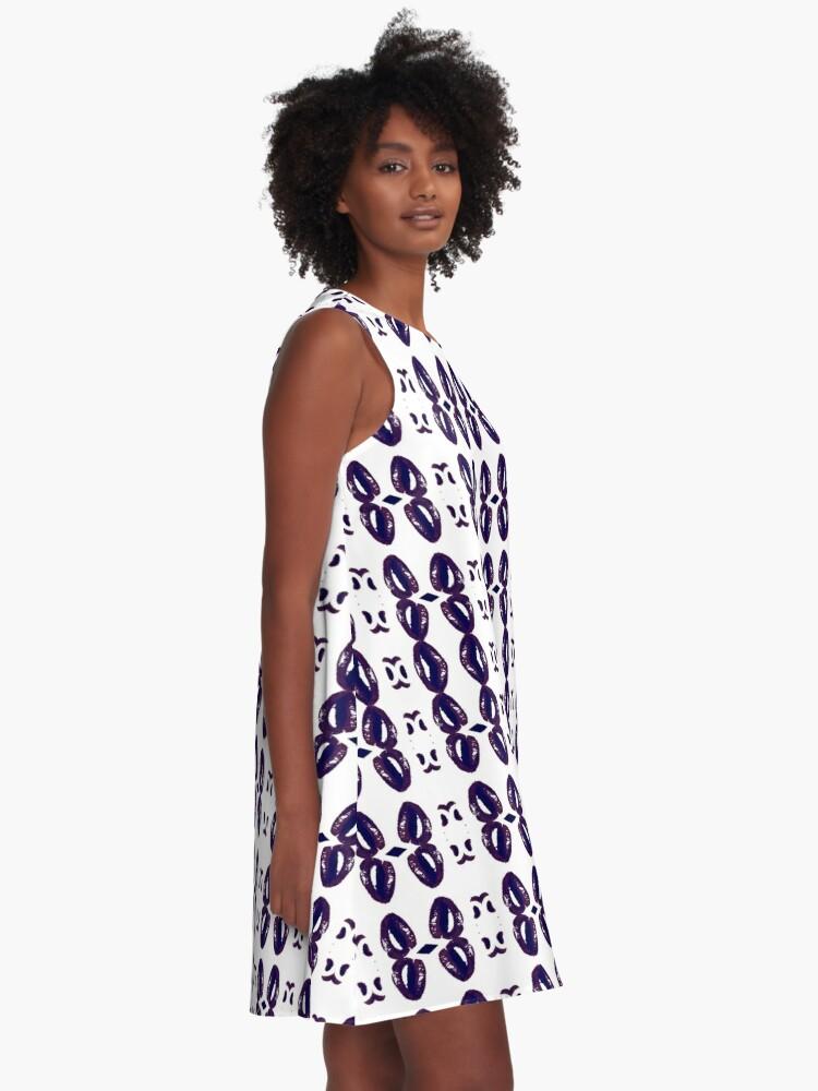 Alternate view of Harmonious, harmonic, balanced, tuneful, consonant, concordant, rich, wealthy A-Line Dress