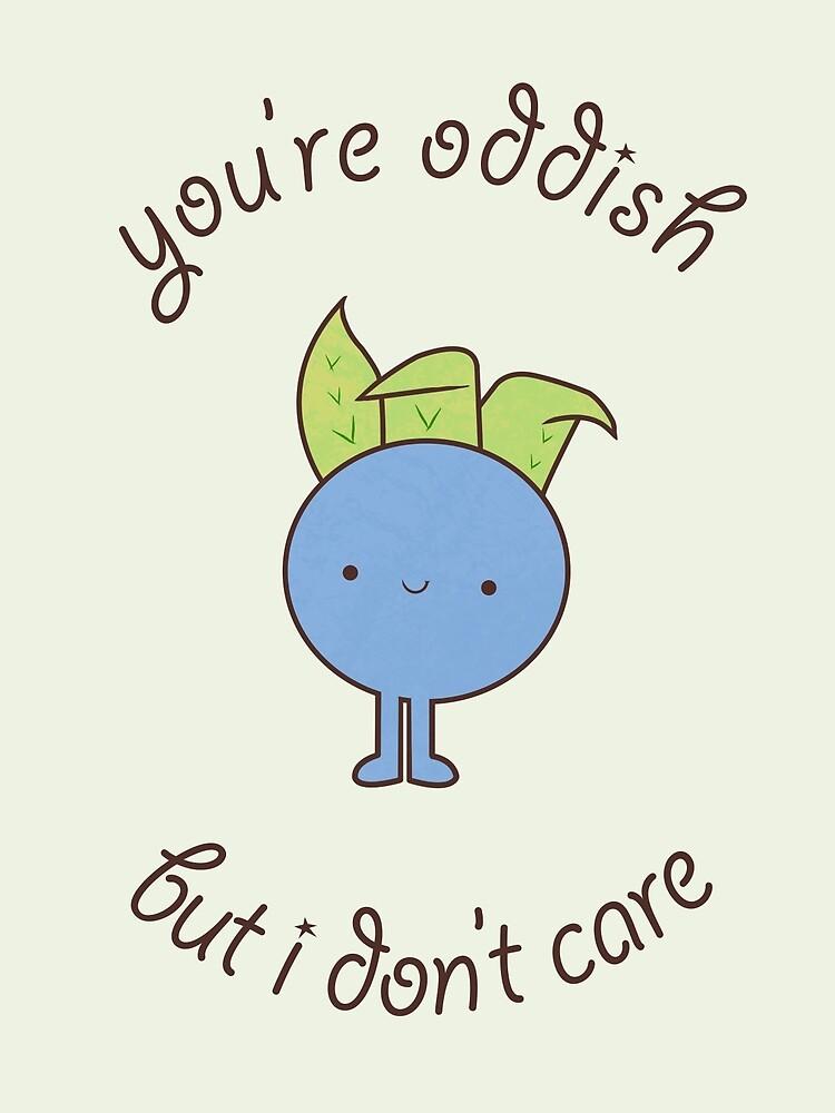 U are oddish by Guidux