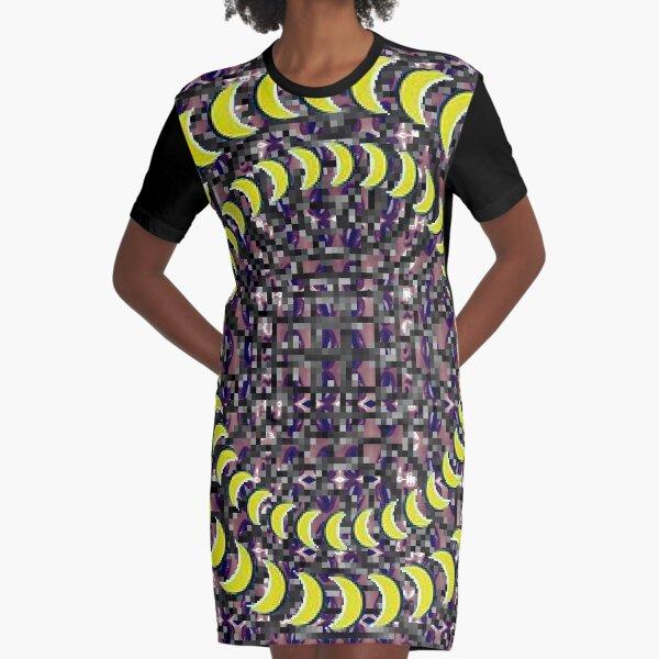 Exuberant, colorific, ornate,  gorgeous, vintage, prestigious, harmonious, harmonic, dubstep weed Graphic T-Shirt Dress