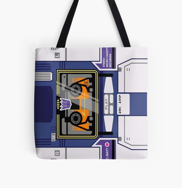 Soundwave ngiseng All Over Print Tote Bag