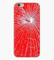 Broken Glass 2 iPhone Red iPhone Case