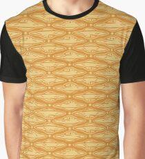 Quatrefoil UFOs - Golden Graphic T-Shirt