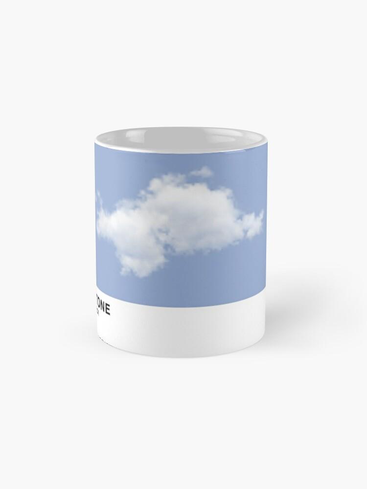 Vista alternativa de Taza Serenity Blue Pantone Cloud