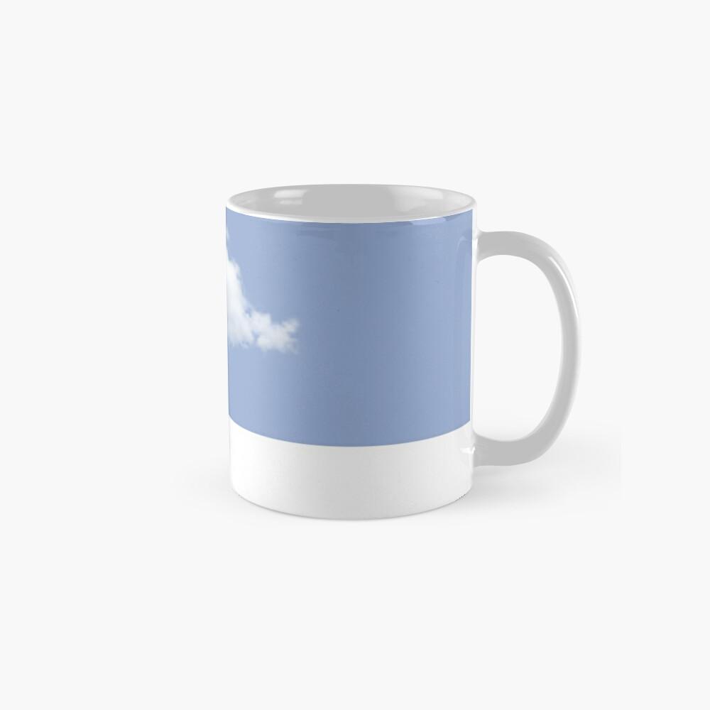 Serenity Blue Pantone Cloud Taza