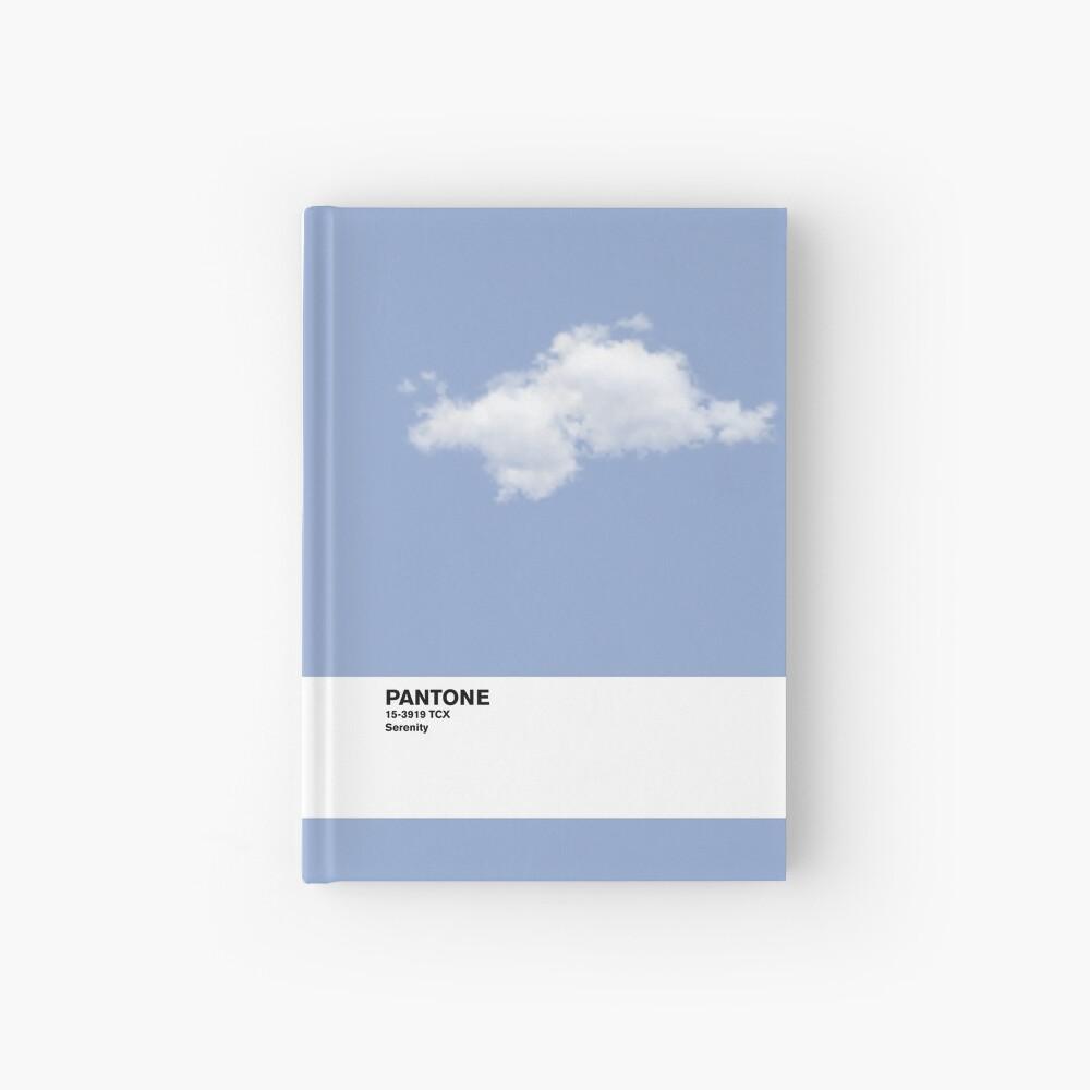 Serenity Blue Pantone Cloud Cuaderno de tapa dura