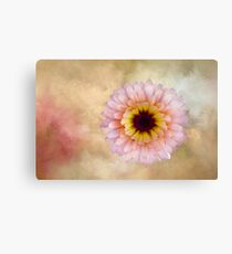Spring Textured Flower Canvas Print